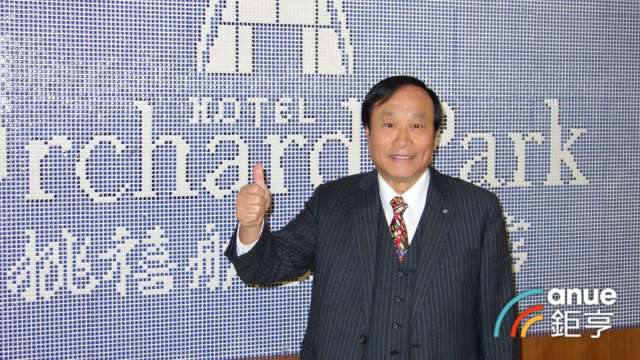 昇貿董事長李三連。(鉅亨網記者張欽發攝)