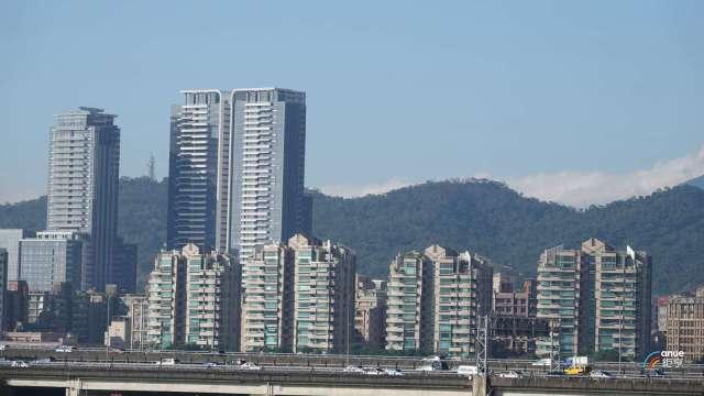 台北市豪宅交易,中山區為常勝軍,圖中為大直「西華富邦」案。(鉅亨網記者張欽發攝)