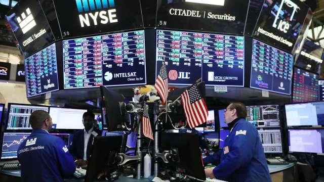美債殖利率成為左右股市的變數之一。(圖:AFP)
