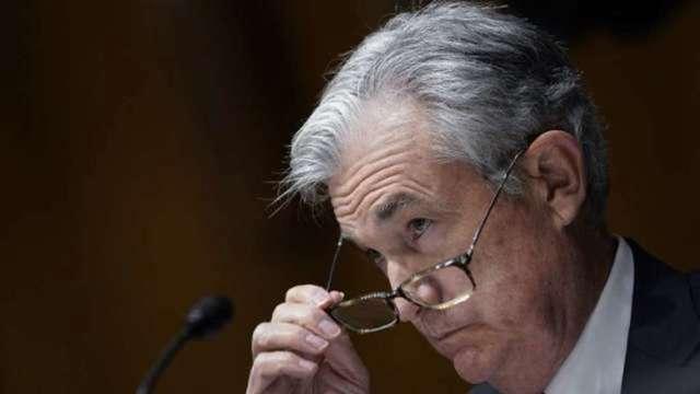 鮑爾赴國會作證 將重申Fed寬鬆政策支撐經濟決心 (圖:AFP)