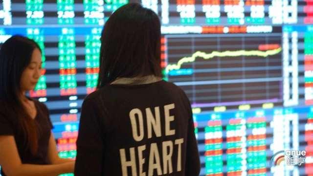 〈台股盤中〉半導體+金融股飆 難敵櫃買翻黑 大盤回測16200點。(鉅亨網資料照)