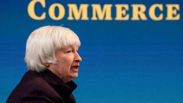 葉倫:美國經濟有望在2022年實現充分就業(圖片:AFP)