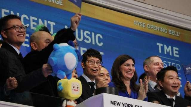 騰訊音樂Q4營收年增14.3% 宣布與華納音樂共同成立全新音樂廠牌(圖:AFP)
