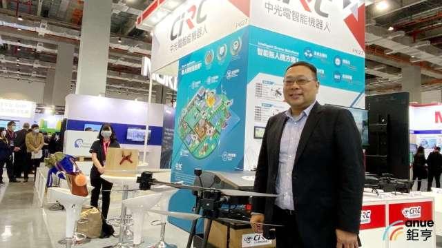 中光電智能機器人總經理忻維忠。(鉅亨網記者劉韋廷攝)