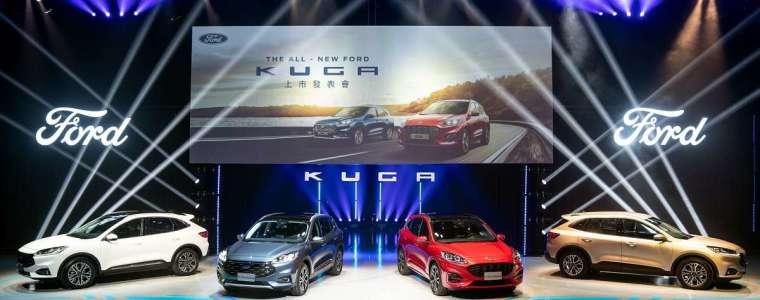 光靠 Kuga(1536 輛)與新增 Focus Active(439 輛),讓福特六和(3519 輛)今年首月就擠下裕隆日產(3429 輛)初嚐季軍滋味。