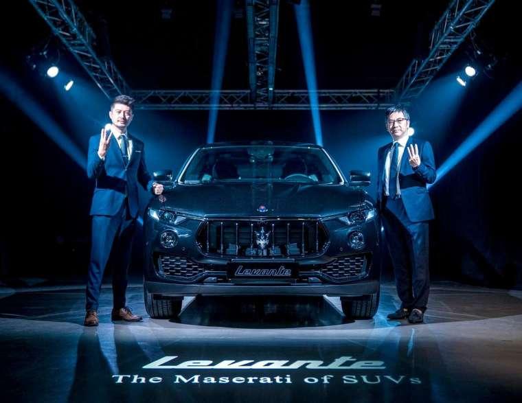 元月份 Levante 掛牌達 44 輛,也讓 Maserati 單月掛牌直上 63 輛。