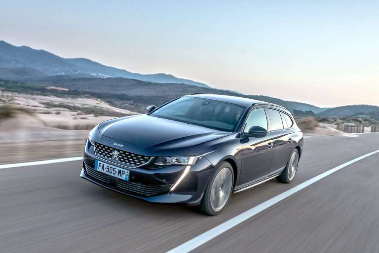 Peugeot 508 SW 今年 1 月份剛上市就掛牌 18 輛。