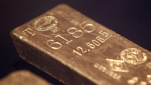 分析師:美公債殖利率升 金價仍有望升至1,850美元(圖片:AFP)