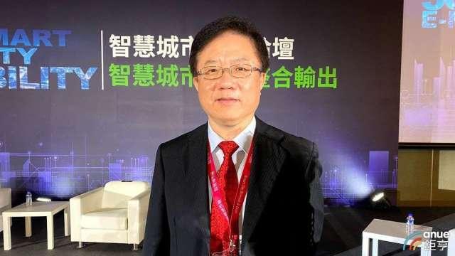 中華電行動通信分公司總經理簡志誠。(鉅亨網記者沈筱禎攝)