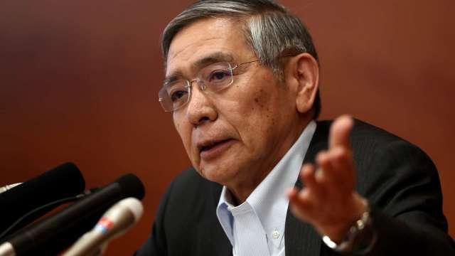 黑田東彥:日本央行持有的ETF 還不到考量脫手的時候 (圖片:AFP)
