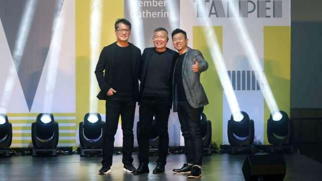 左起為鴻華先進科技總經理李秉彥、MIH聯盟執行長鄭顯聰、MIH聯盟技術長魏國章。(圖:鴻海提供)
