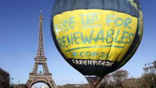 巴黎協定訂定2050年達成碳中和目標。(圖:AFP)