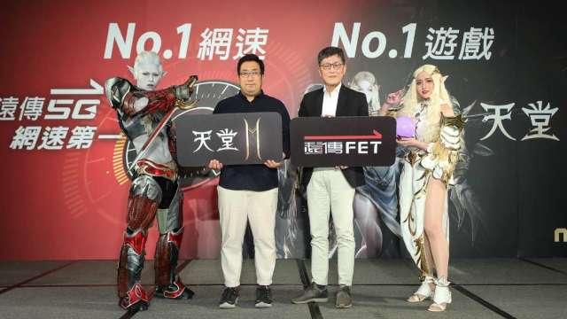 右二為遠傳電信個人用戶事業群執行副總經理尹德洋、右三為NC Taiwan總經理徐政德。(圖:遠傳提供)