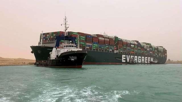 馬士基:貨運積壓恐數周甚至數月才能疏解 (圖:AFP)