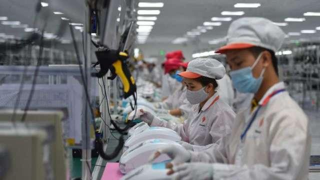 越南政府:第1季GDP估年增4.48% 全年6.5%不易達成(圖:AFP)