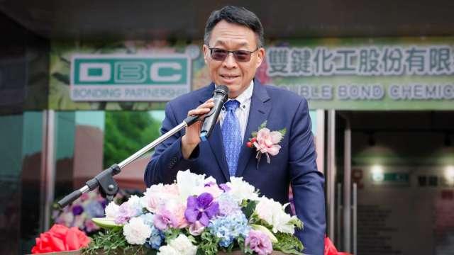 雙鍵化工董事長王棟海。(圖:雙鍵提供)