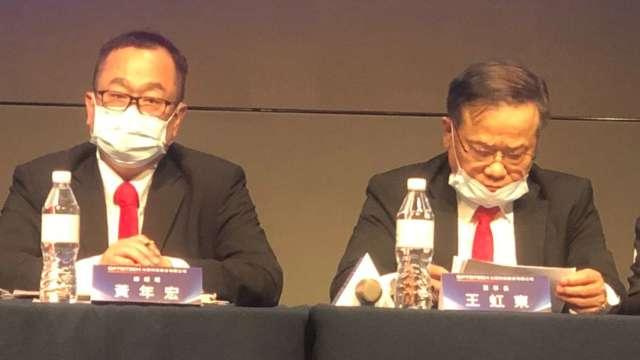 右起為光磊董事長王虹東、總經理黃年宏。(圖:光磊提供)