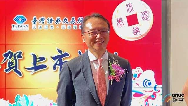 宏碁董事長陳俊聖:筆電漲價難以避免,Q2零組件供給加劇。(鉅亨網記者劉韋廷攝)