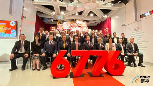 宏碁金雞展碁國際今掛牌上市,漲逾150%大展蜜月行情。(鉅亨網記者劉韋廷攝)