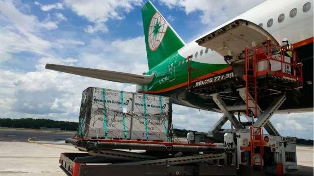 長榮航與長榮航勤近日獲醫藥冷鏈運輸國際認證。(圖:長榮航提供)