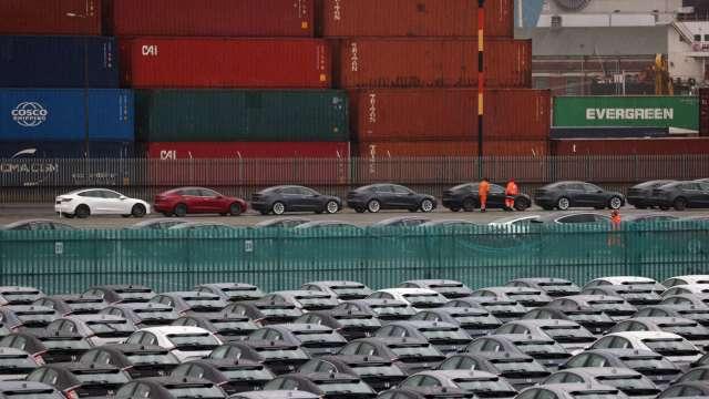 WTO上調預測 2021全球貨物貿易量成長8%。(圖片:AFP)