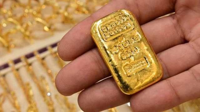 黃金回神收高 第1季仍跌9.5% 逾四年最大跌幅(圖:AFP)