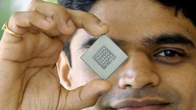 印度擬祭10億美元獎勵措施 向晶片製造商招手(圖片:AFP)