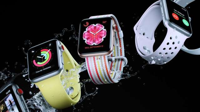 迎戰軍規級Apple Watch?卡西歐推首款採Wear OS的G-SHOCK (圖片:AFP)