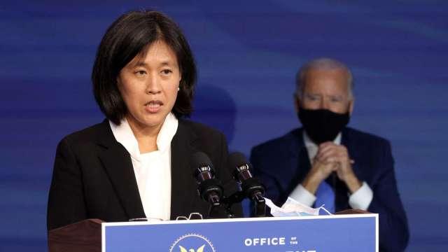 再提匯率操縱 美貿易代表戴琪對越南工商部長表達疑慮 (圖:AFP)