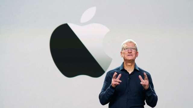 庫克透露:可能在十年內卸任蘋果CEO。(圖片:AFP)