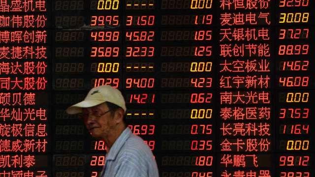 近七成A股上市公司純益呈現上揚(圖片:AFP)