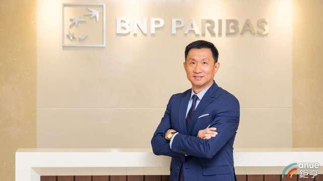 法國巴黎資產管理台灣區負責人陳能耀。(鉅亨網拍攝)