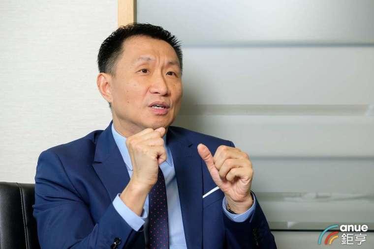 法國巴黎資產管理台灣區負責人陳能耀。(圖: 鉅亨網拍攝)