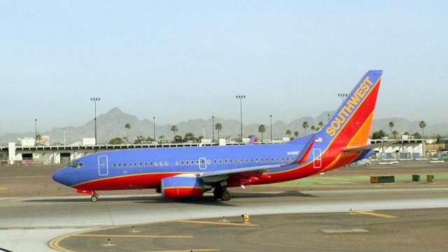 旅行需求復甦? 西南航空召回209名機師(圖片:AFP)