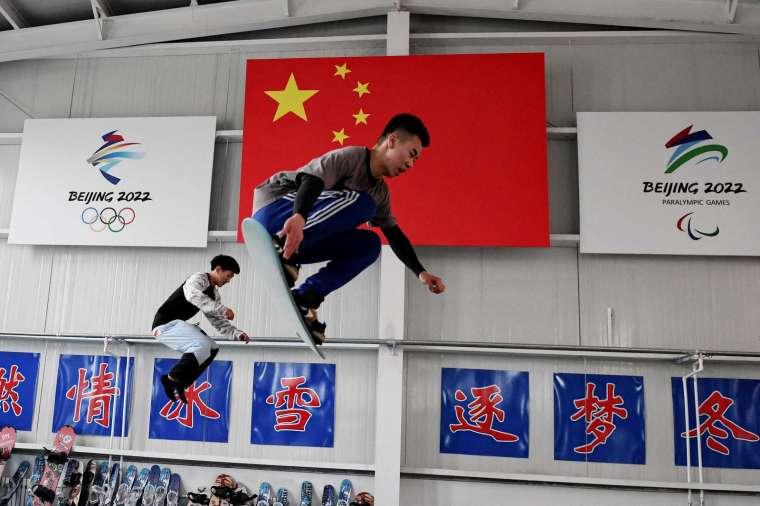 美國國務院稱,美國正考慮抵制中國主辦的 2022 年冬季奧運 (圖片:AFP)