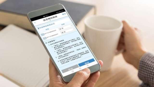 北富銀首創手機一鍵調額。(圖:台北富邦銀行提供)
