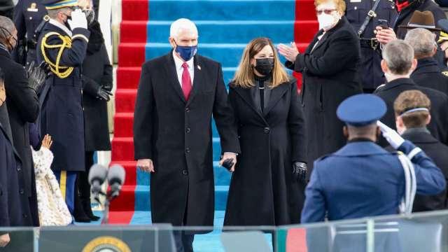 彭斯有新動作!有意參選 2024 年美國總統大選。(圖片:AFP)