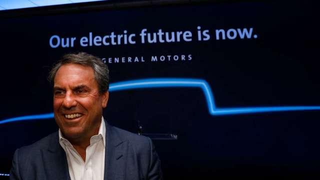 通用汽車聚焦電池研發 總裁盧斯點出電動車業勝負關鍵(圖片:AFP)