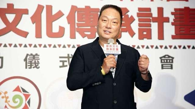 東森購物董事長王令麟。(圖:東森提供)