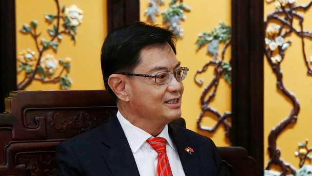 新加坡總理接班人王瑞杰宣布不接棒 兩周後將卸財長一職 (圖:AFP)