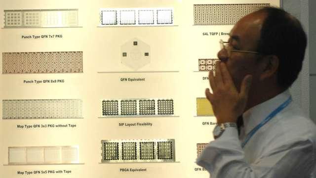 生產晶片供中國研發飛彈? 台積電:恪守所有相關法規。(圖:AFP)