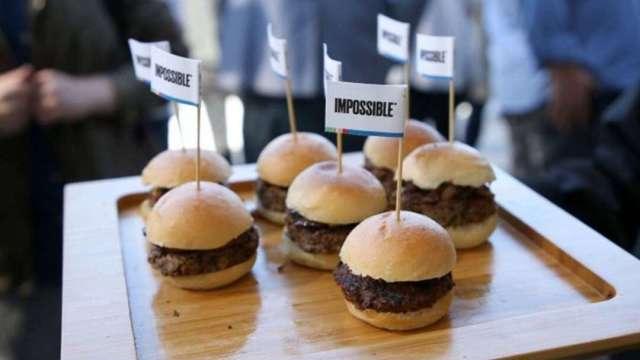Impossible Foods擬上市 估值至少100億美元 (圖:AFP)