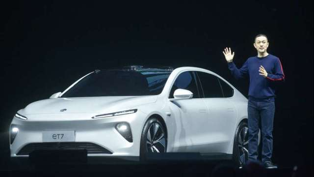 中汽協:中國汽車銷量連12個月成長 新能源車3月增長近2.4倍(圖:AFP)