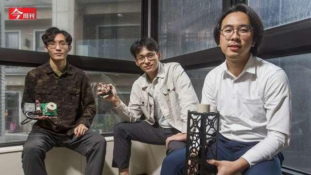 嘉義偏鄉4個21歲年輕人研發「球型馬達」 6月搭SpaceX上太空測試。(圖:今周刊)