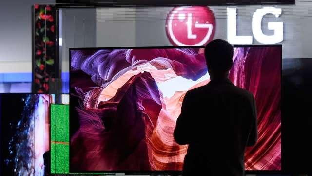 調查:中國面板廠包辦電視市場前三 群創、LG緊跟在後 (圖片:AFP)