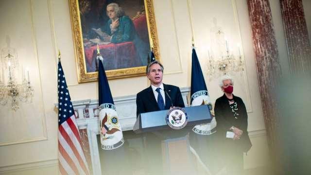 美對台交往準則放寬 雙方官員可在代表處、雙橡園會晤 (圖:AFP)