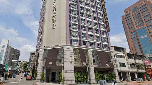 以5.88億元成交的皇家季節酒店台中中港館。(圖:google地圖截圖)