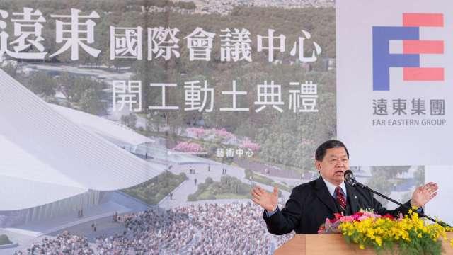 遠東集團董事長徐旭東。(圖:桃園市府提供)