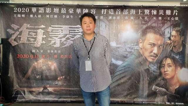 海樂影業董事長吳浩佑。(圖:海樂提供)