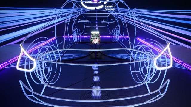 英特爾子公司 Mobileye 於 2023 年啟動無人送貨服務。(圖片:AFP)